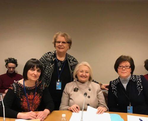 Ambassador Verveer with OSCE colleagues