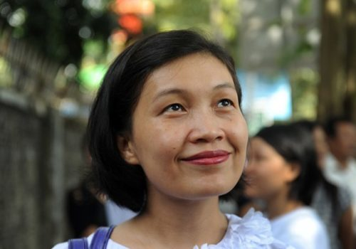 Phyu Phyu - women's rights activist