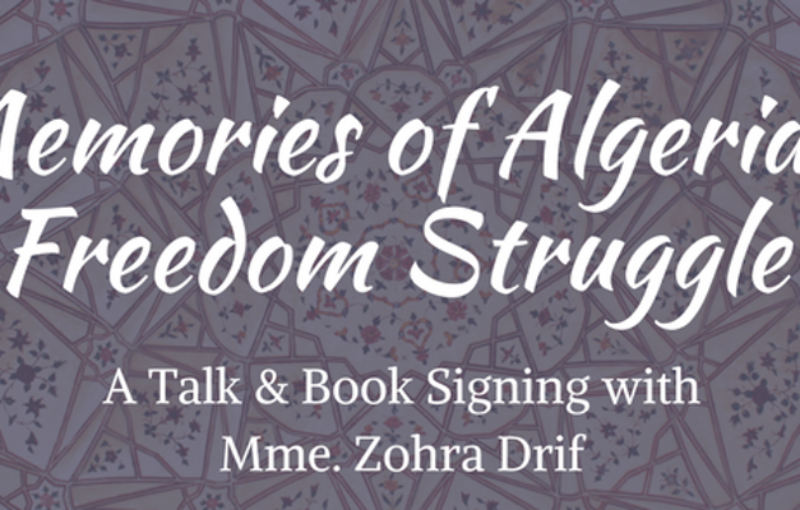 poster for Memories of Algeria's Freedom Struggle