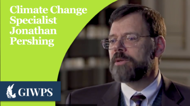Link to Climate Change Specialist Jonathan Pershing