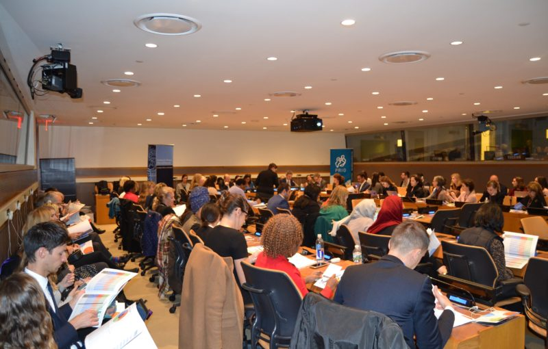 Audience at WPS Index launch at the United Nations