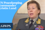 THUMBNAIL: UN Peacekeeping commander Kristen Lund