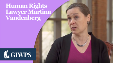 Link to Human Rights Lawyer Martina Vandenberg
