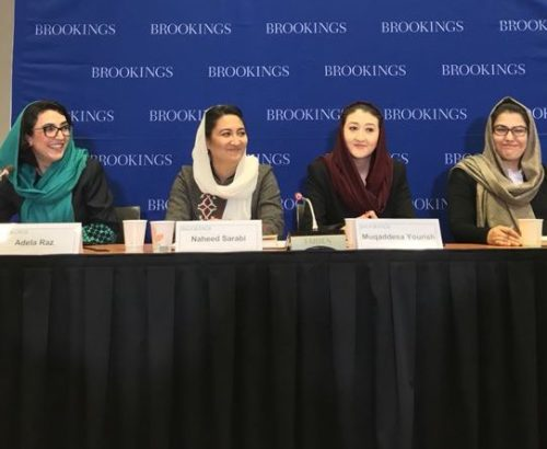 Afghan women in government