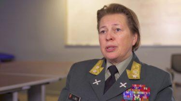 Link to UN Peacekeeping Commander Kristin Lund