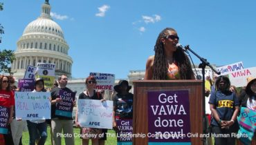 Link to What Funding Cuts Mean For Women: Violence Against Women Act Grants