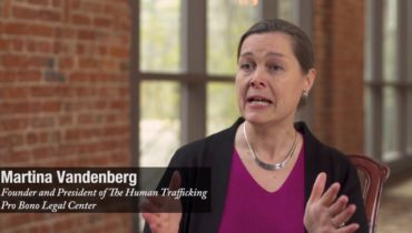 Link to Human Rights Lawyer Martina Vandenberg