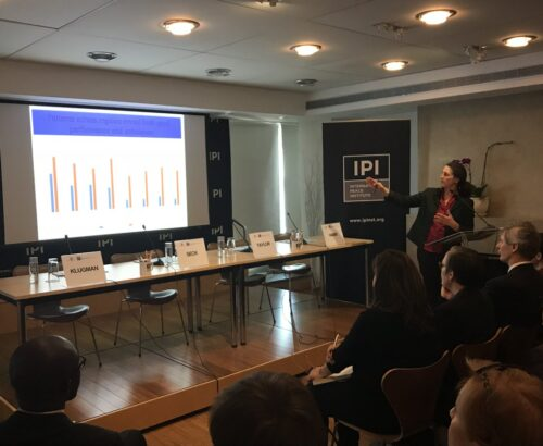 WPS Index event at IPI