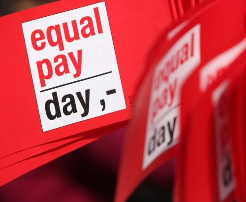 equal pay day banner