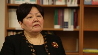 Link to OSCE Anti-Trafficking Representative Madina Jarbussynova