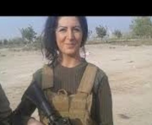 Joanna Palani from Denmark fled her homeland to fight ISIS in Syria.