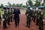 Peacekeepers in the Central African Republic
