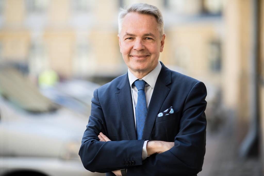 Finland's Minister for Foreign Affairs Pekka Haavisto