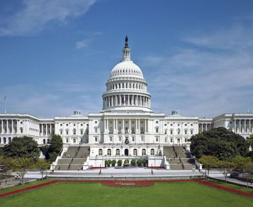 Photo of the US Capitol Building