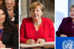 Image of Jacinda Ardern, Angela Merkel, and Erna Solberg