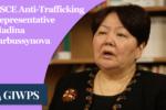 Video Thumbnail: Anti-Traffinking Representative Madina Jarbussynova