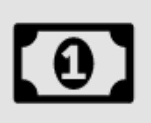 Icon representing money