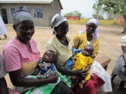 Women and children in South Sudan