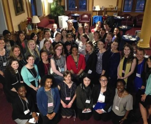 GWIA students host an event at Georgetown