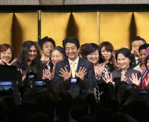 Japanese leader Shinzo Abe