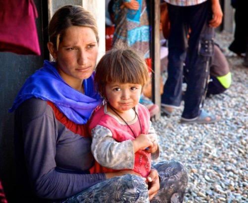 Yazidi women and girls