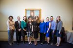 GIWPS staff and Queen Rania
