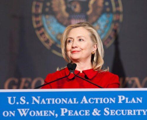 Hilary Clinton speaks at Georgetown