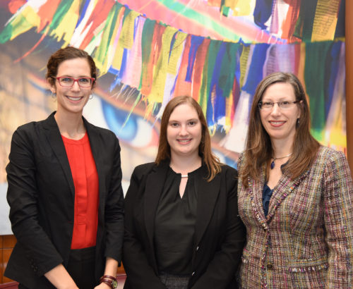 Georgetown research fellows travel to Nepal to present their work at a conference