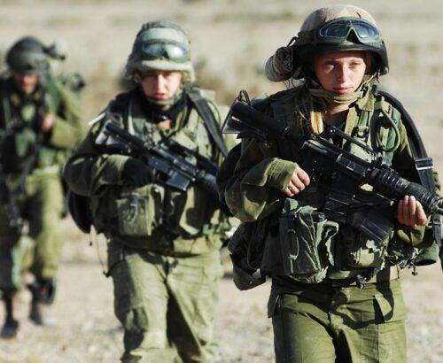Gender equality in militaries