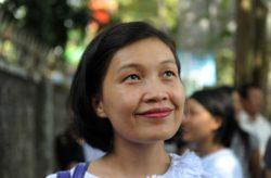 Phyu Phyu - women's rights activist