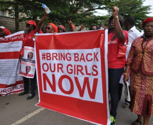 Obiageli Ezekwesili created the #BringBackOurGirls campaign in response to the abduction of nearly 300 schoolgirls in northeastern Nigeria by Boko Haram in April 2014.