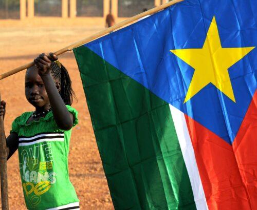 Girl in South Sudan