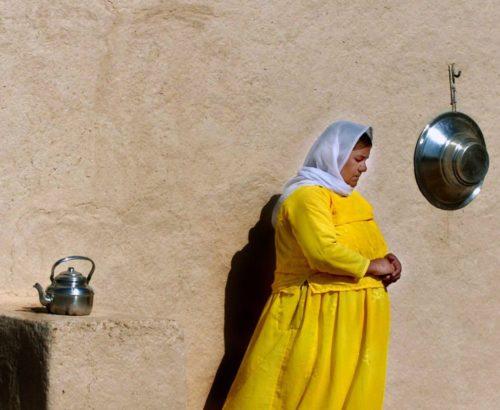 Yazidi women often face violence from extremists