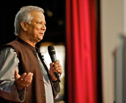 Muhammad Yunus - founder of Grameen Bank