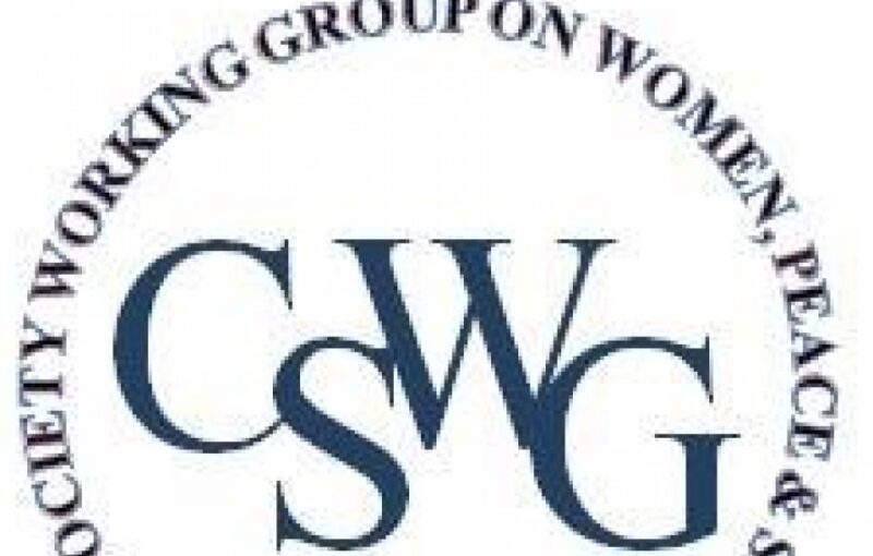 The U.S. Civil Society Working Group on Women, Peace and Security Logo