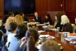 Roundtable discussion at Georgetown