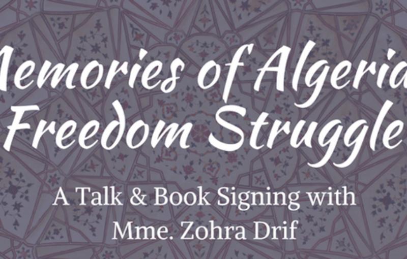 poster for Memories of Algeria's Freedom Struggle