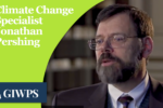 thumbnail: climate change specialist Johnathan Pershing