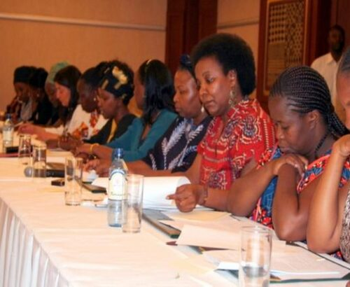 Kenyan women deliberate womens role in post-election conflict