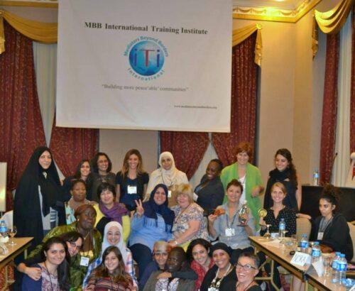 Women mediators in training in Istanbul 2013