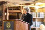 The Ambassador of Sweden to the US addresses the audience