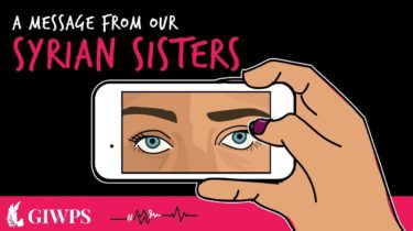 Link to Message from Our Syrian Sisters