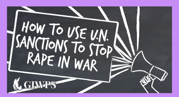 How to Use U.N. Sanctions to Stop Rape in War