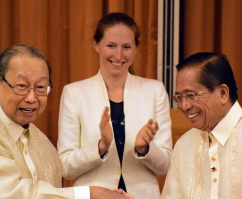 Elisabeth Slattum, former RNG Special Envoy to the Philippine Peace Process