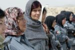 Women on a NATO training mission in Afghanistan