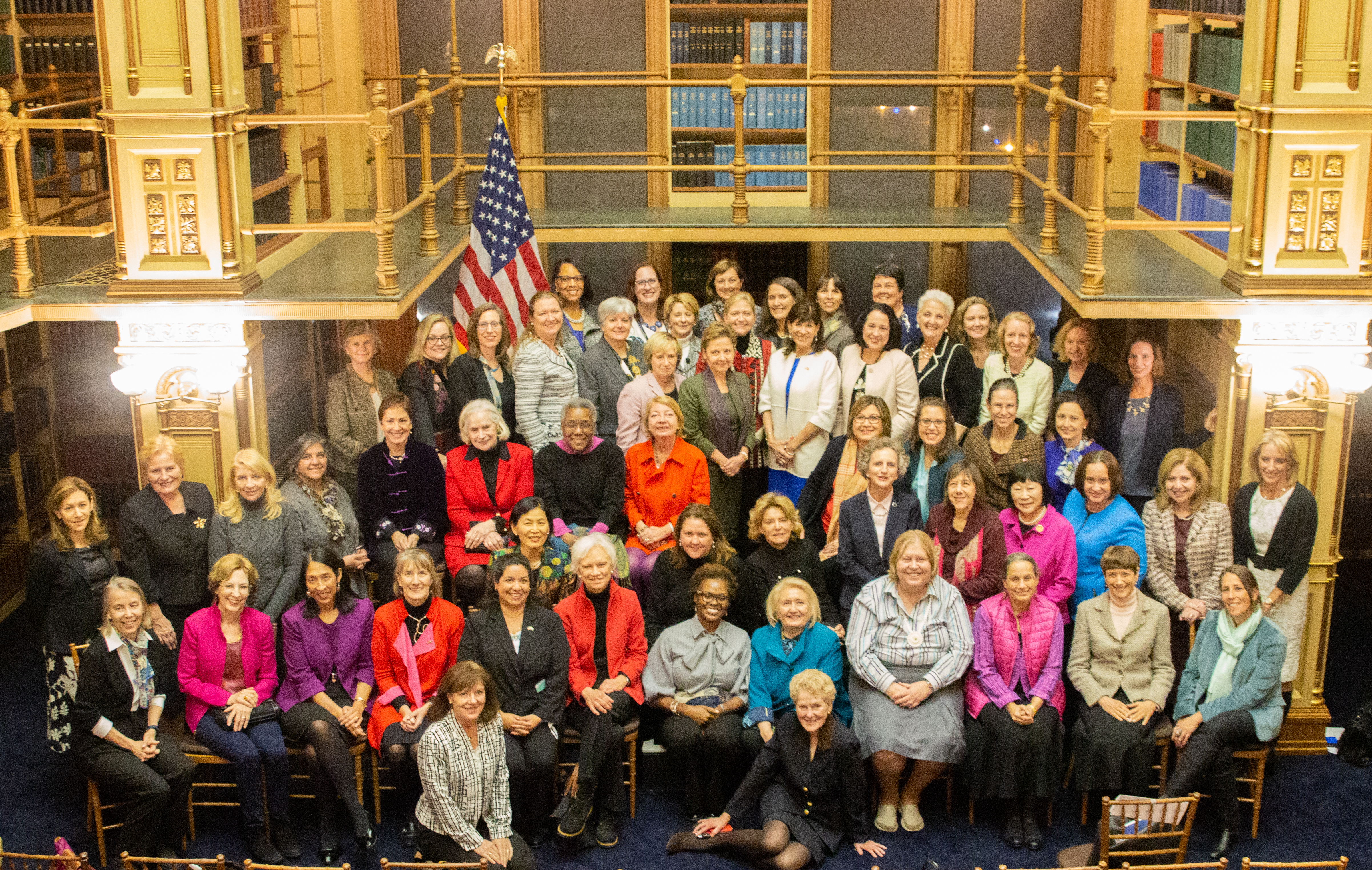 Women ambassadors gather at Georgetown