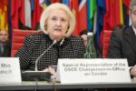 Melanne Verveer speaking at OSCE event