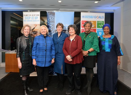 Congresswomen honored by UN Women and Georgetown leadership