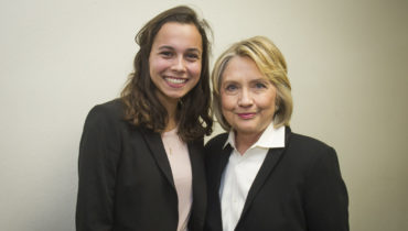Link to Undergraduates Reflect on Meeting Hillary Clinton, Advancing Women's Rights