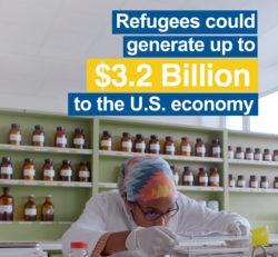 Refugees could generate up to $3.2 billion to the U.S. economy